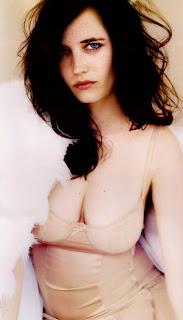 Eva Green Deep Cleavage In Bikini