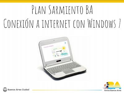 Conexión a internet con Windows 7