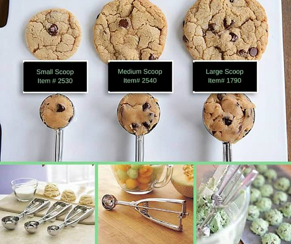 Cookie Scoops from my Pampered Chef website