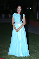 Pujita Ponnada in transparent sky blue dress at Darshakudu pre release ~  Exclusive Celebrities Galleries 136.JPG