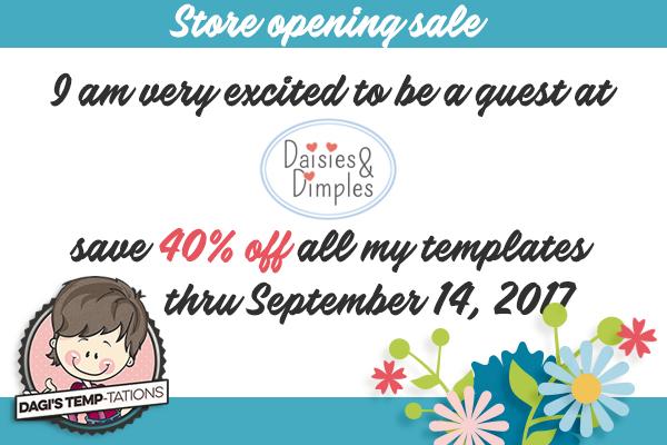 Dagi's Temp-tations Daisies & Dimples