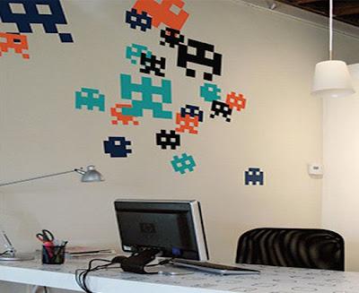 decoración de video juegos