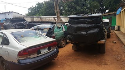 Customs Seize 37 Vehicles Loaded with Rice, Arrests 3 Suspects