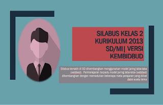 Download Silabus kelas 2 Semester 1 dan 2 Kurikulum 2013