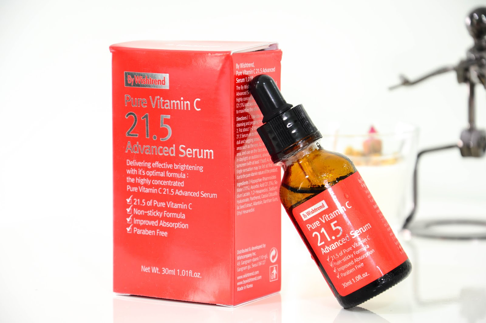 By Wishtrend Pure Vitamin C 21.5 Advanced Serum review
