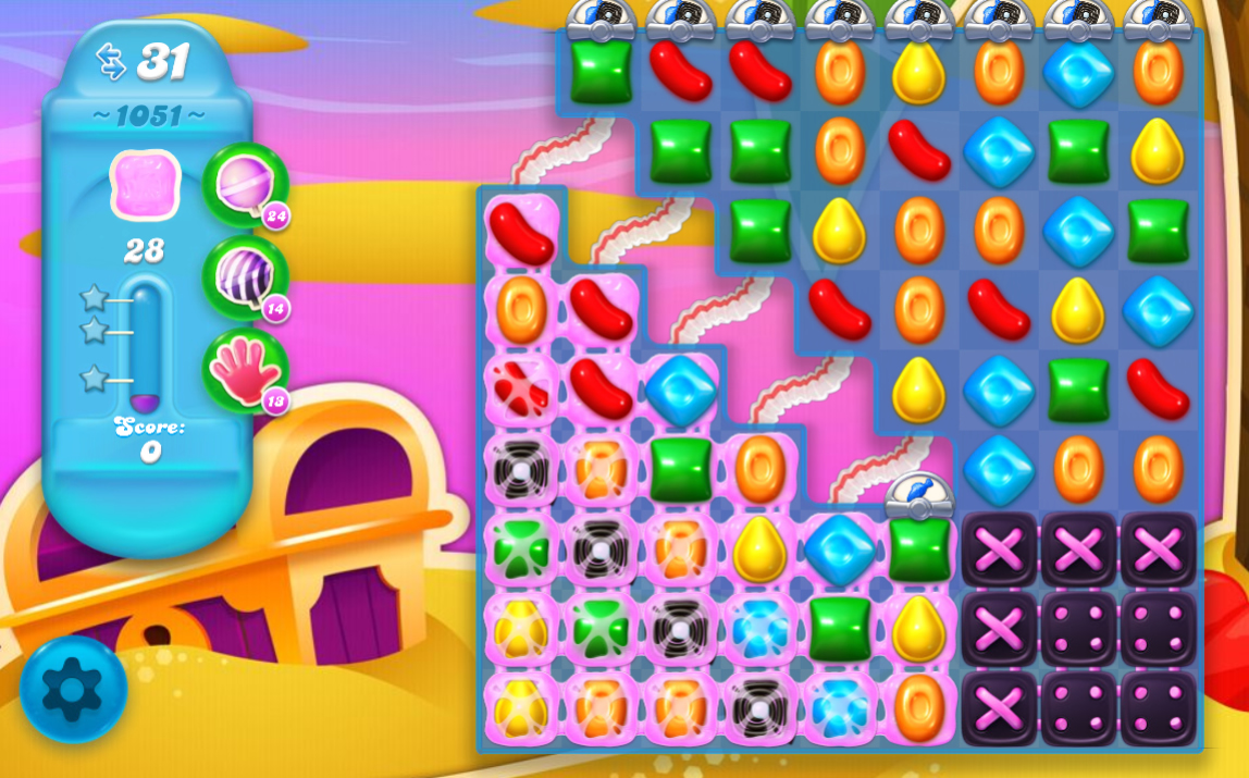 Candy Crush Soda Saga 1051