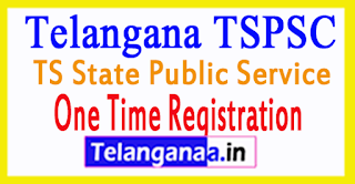 TSPSC One Time Registration