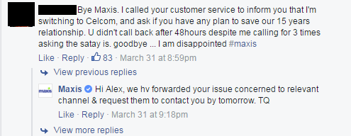 Maxis is under attack due to 'unfair treatment' towards customers