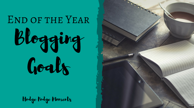 End of the Year Blogging Goals