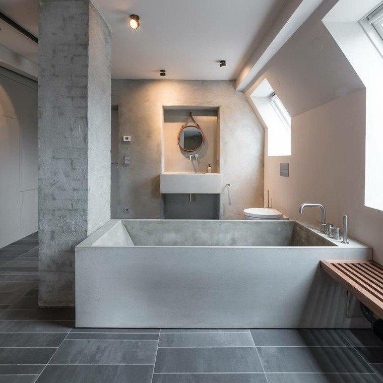 Home challenge le b ton dans la d co for Beton mineral mur salle de bain