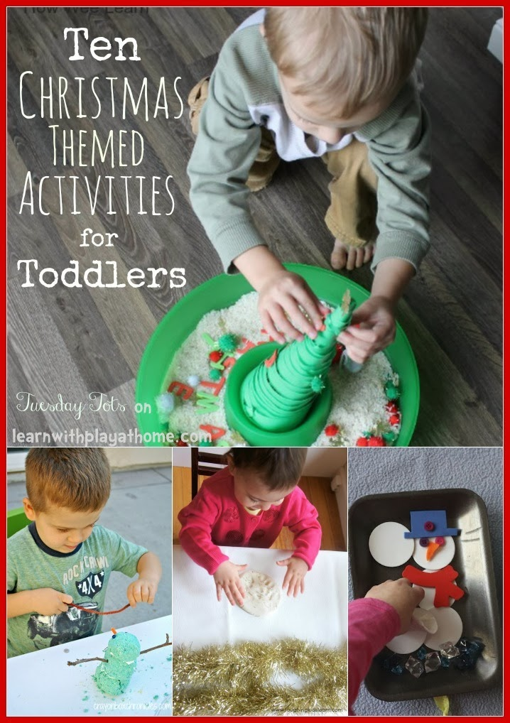 Christmas Ideas For Toddlers.Learn With Play At Home 10 Christmas Activities For Toddlers