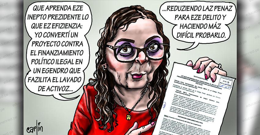 Carlincaturas Lunes 1 Abril 2019 - La República