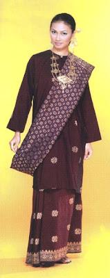 Foto Model Baju Kebaya Johor