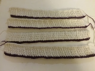 Knit Frills, 1855 Undersleeve Pattern