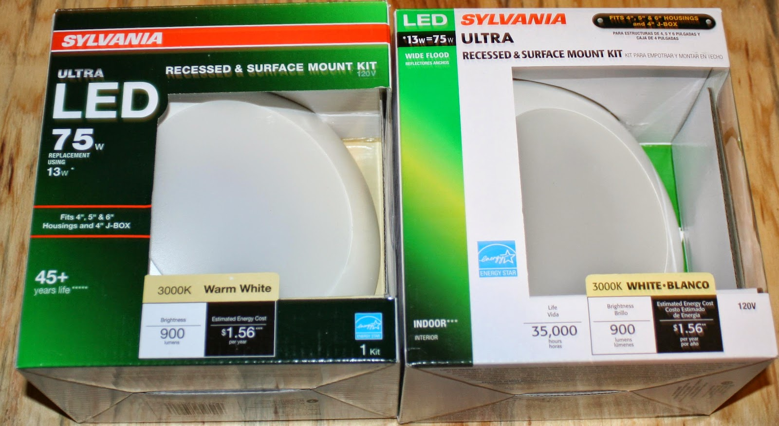 Energy Conservation How To Review Sylvania 70732 Led Disk Light Now Called Model 75094