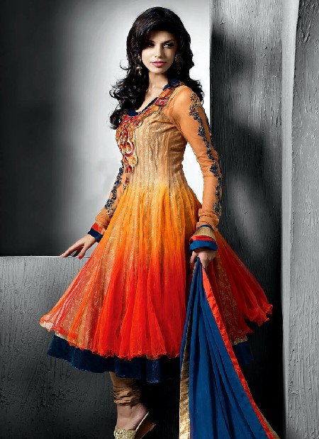 latest readymade anarkali suits 2013 for women frock