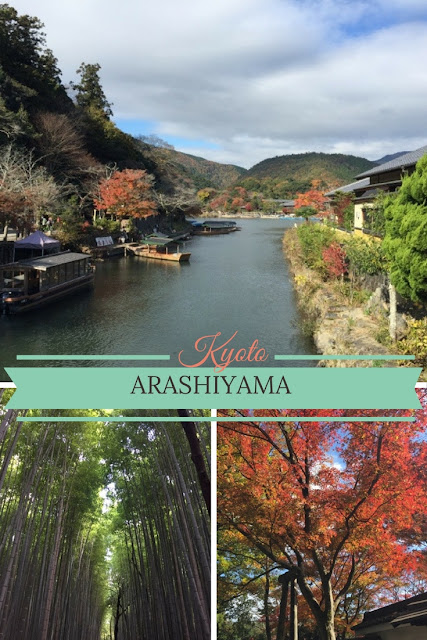 Arashiyama in Kyoto is a must-see when visiting Kyoto. It is a charming little town with lots of traditional shops, restaurants and temples and is the perfect spot for viewing autumn leaves or Cherry blossoms in spring!