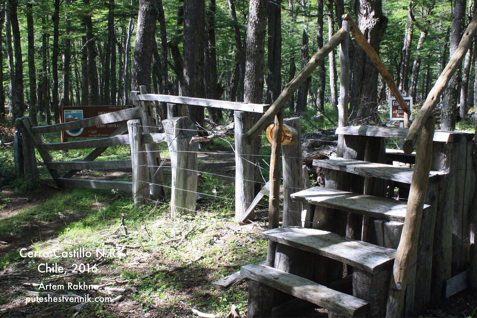 Лестница через ограду