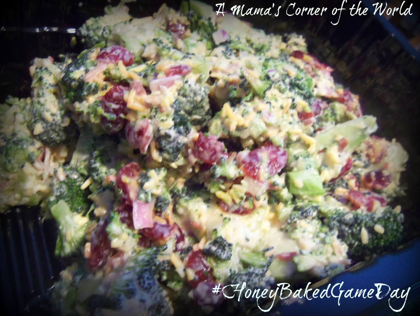 Broccoli Salad Recipe Honey Baked Ham
