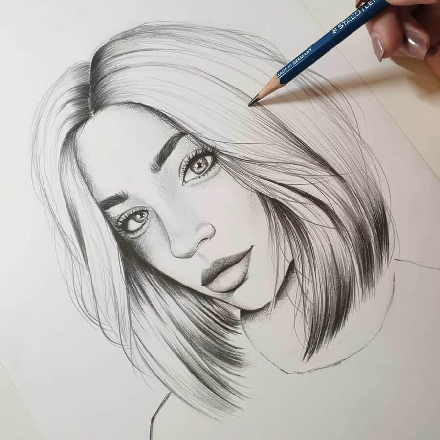 08-Milica-Pencil-Portraits-www-designstack-co