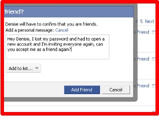 how to view someones facebook profile if its private