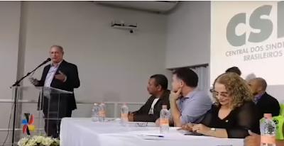 """""""O Brasil precisa mudar porque o caos está tomando conta"""", diz Ciro Gomes durante evento em Bauru"""