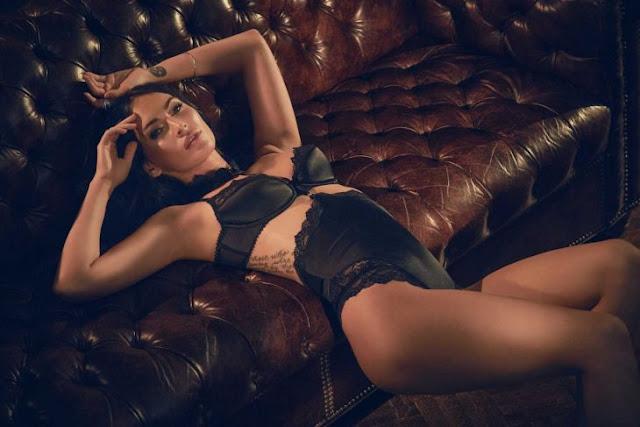 Megan Fox diseña y modela sensual lencería de Frederick's