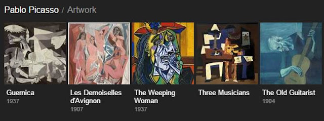 most famous paintings by picasso