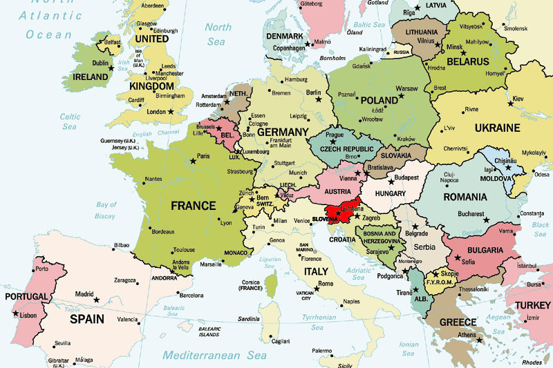 So You Were From SloRussia - Where is slovenia
