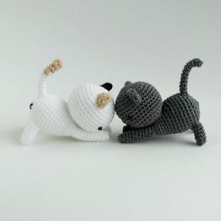 кот Neko Atsume крючком