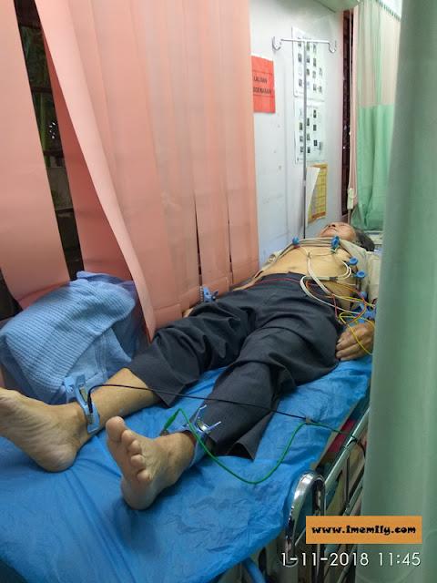 Electrocardiography Klinik Kesihatan Balakong