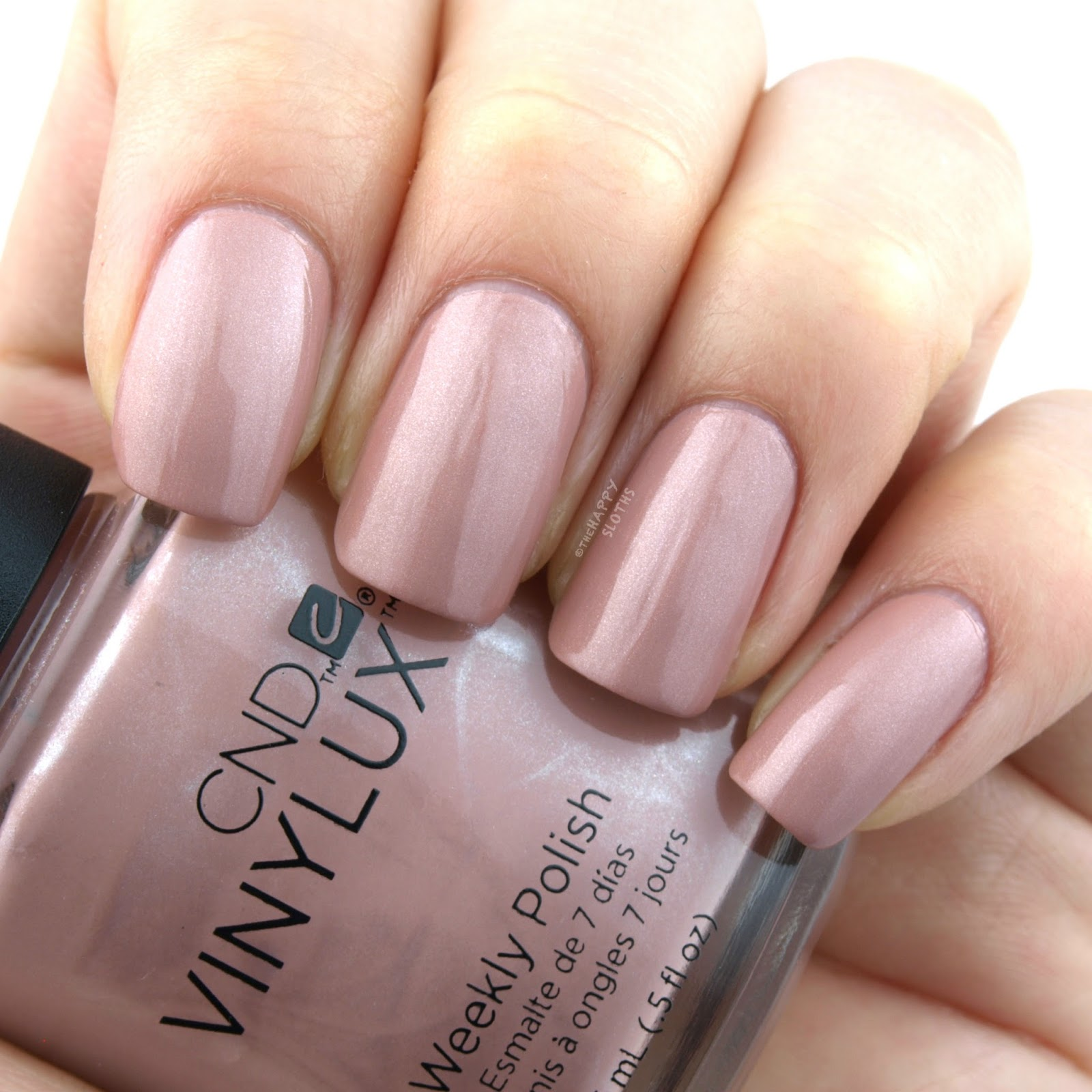 CND Vinylux Intimates Collection   Satin Pajamas: Review and Swatches