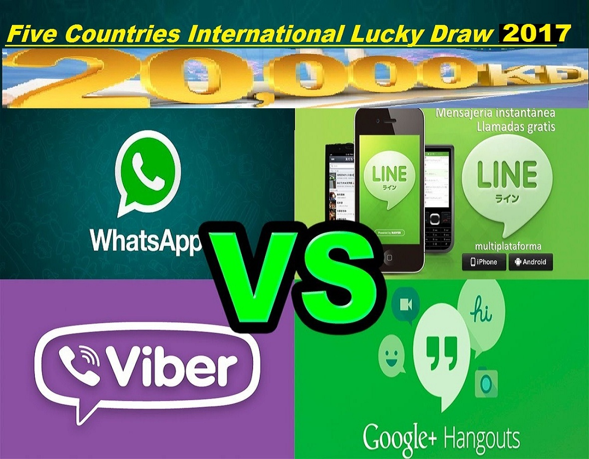 whatsapp lucky winner 2018