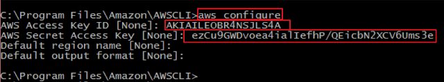 How To Install and Configure AWS CLI for Windows