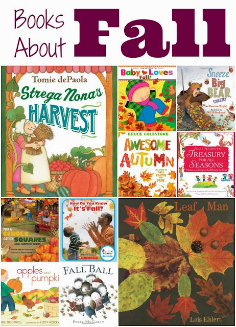 picture books about fall collage