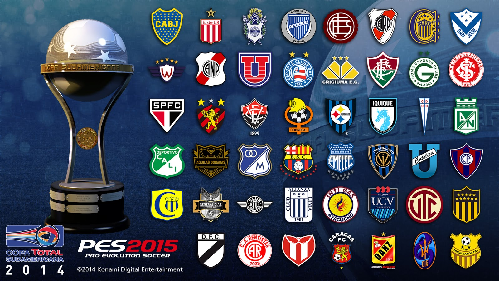 Estadios pes 2014 download patch
