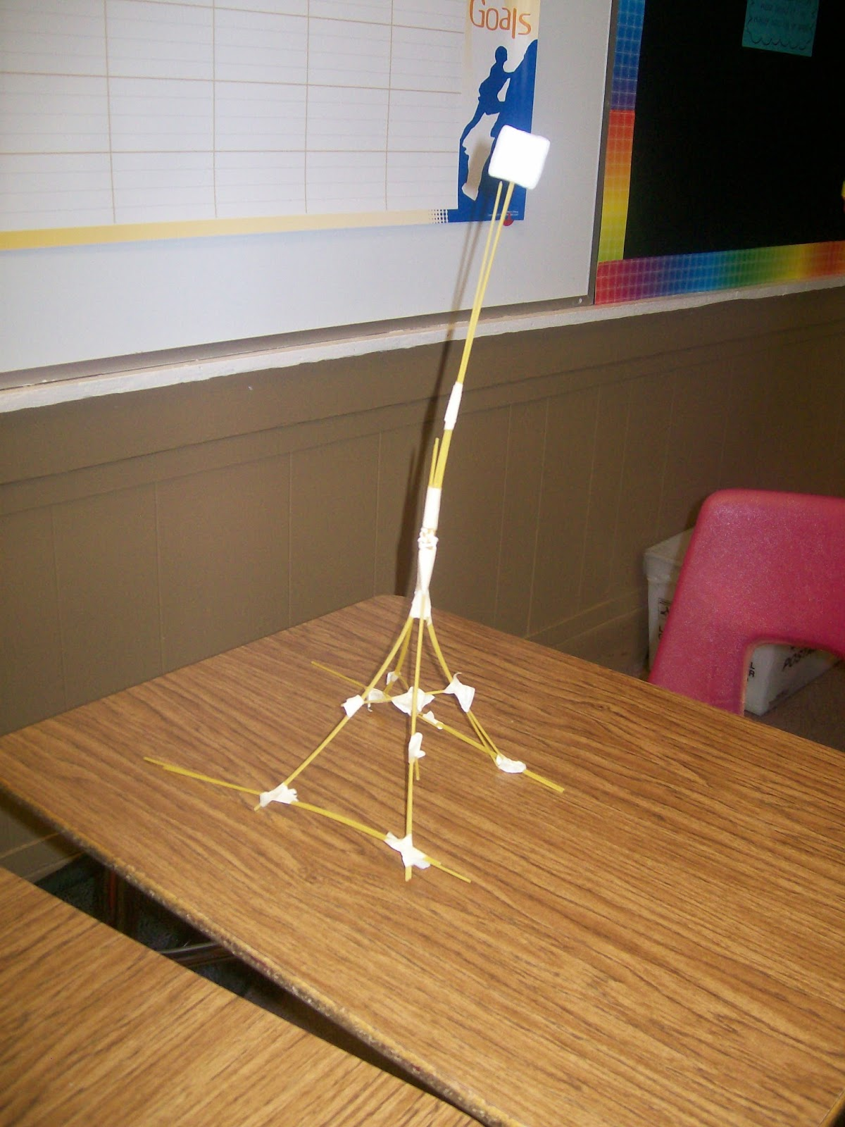 Math Love First Annual Marshmallow Challenge
