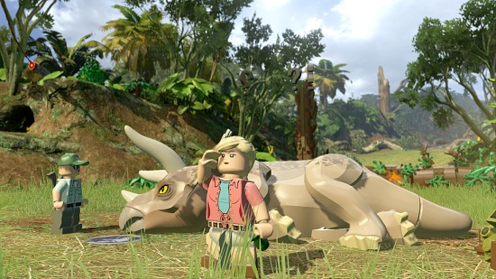 Lego Jurassic World Game Play