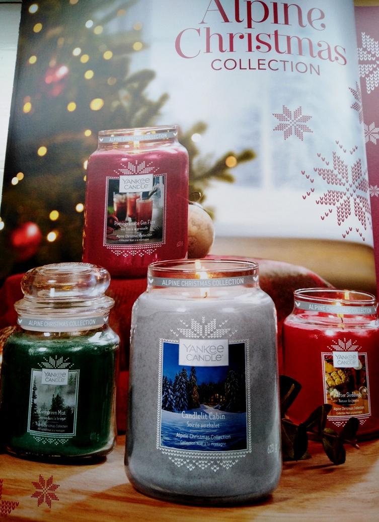 Yankee Candle ALPINE CHRISTMAS CELEBRATION 623g RARITÄT