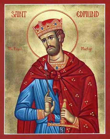 sveti Edmund - kralj in mučenec