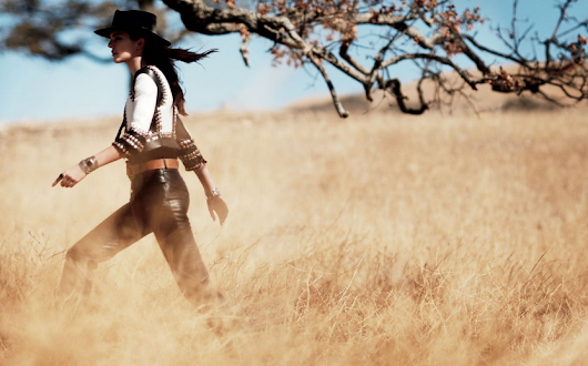 The Many Faces of Supermodel Kendall Jenner in Vogue