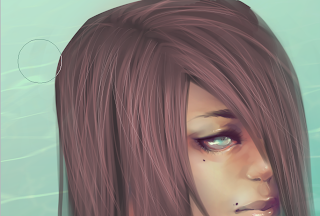 How To Paint Realistic Hair Step 7