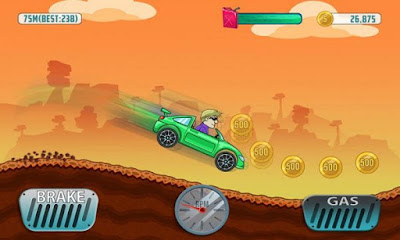 Download Cars Hill Climb Race Apk v1.0.6 Terbaru 2016
