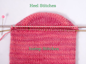 Two-at-a-Time Socks on a Magic Loop: The Heel, Part 1
