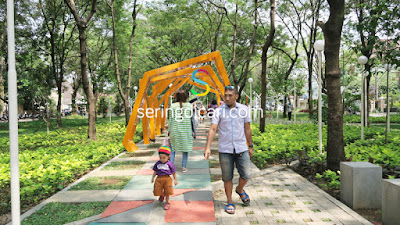 Taman Selamet Jadi Tempat Foto Paling Hits