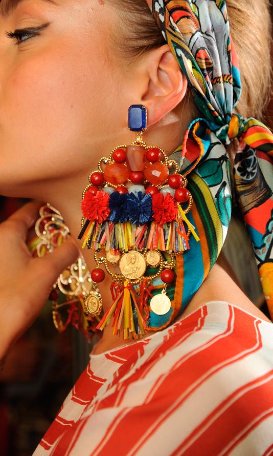 La Passione del Diy  orecchini Dolce e Gabbana  c814a8851e2