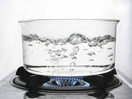 Agua a 90 grados