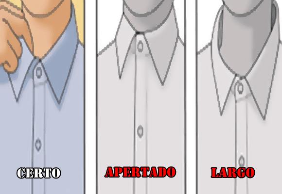 Elegância-camisa-gola