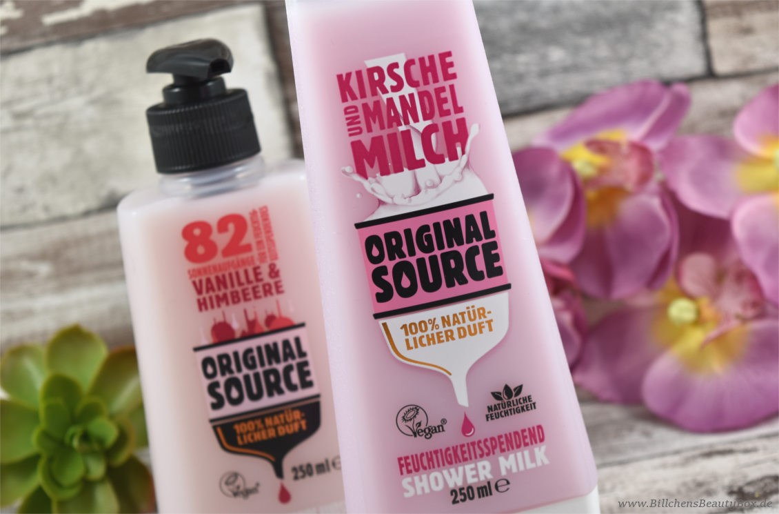 Original Source - Shower Milk & Handseife
