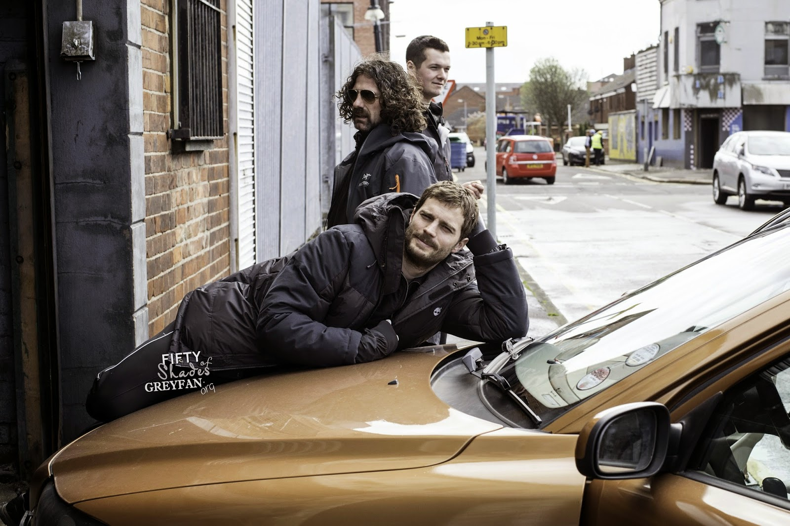 Jamie Dornan Life: New/Old BTS Picture from 'The Fall
